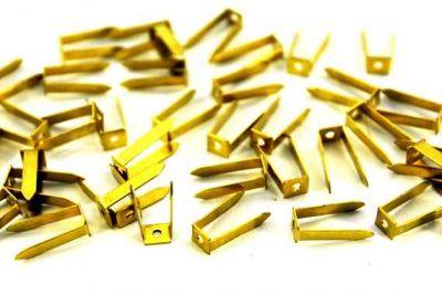 - 6x15 mm AYAK MODELİ HAM PRİNÇ, #532-1.8 mm-DELİKLİ