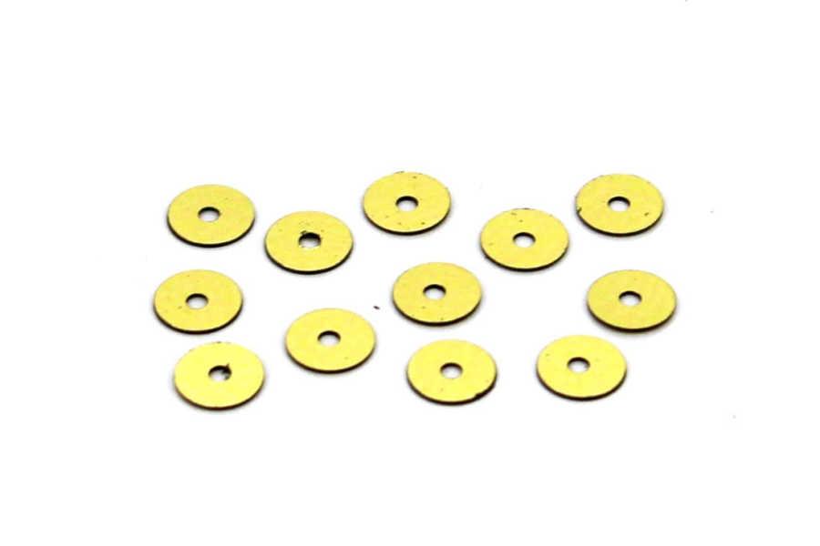 6 mm PLASTİK PUL PAYET, NAKIŞ PULU, DÖKME PUL, ORTADAN DELİK, ALTIN RENK